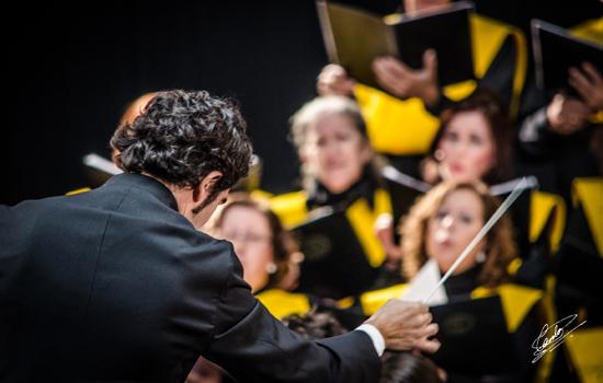 """Concierto """"Black el Payaso"""" de la Coral de la Universidad de Cádiz y la Orquesta Álvarez Beigbeder"""