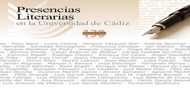 Presencias Universitarias – Presencias Literarias en la Universidad de Cádiz