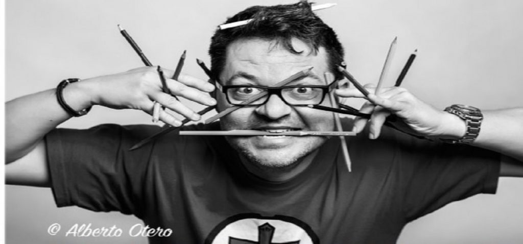 """El ilustrador Paco Sáez imparte el módulo """"Técnicas de dibujo aplicado al storyboard"""" en la Escuela UCA de Cine"""