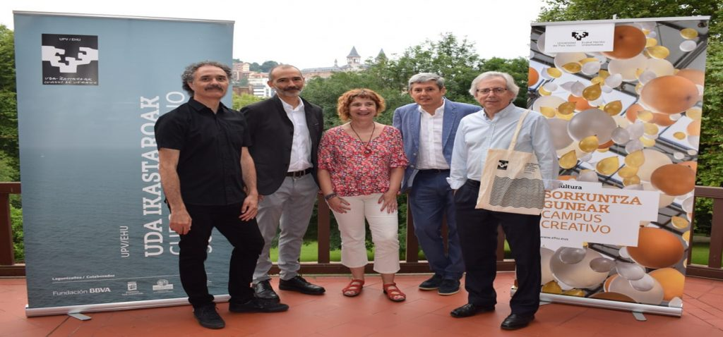 Presentado el Proyecto Atalaya en los Cursos de Verano de la Universidad del País Vasco UPV/EHU