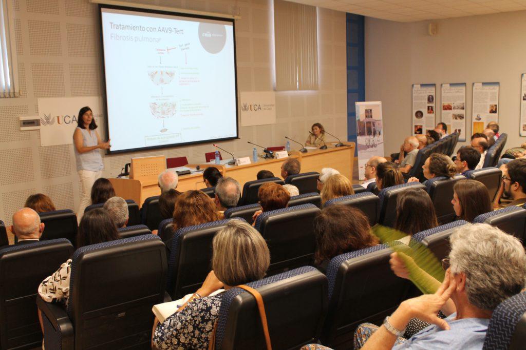 Conferencia inaugural de la 69ª. edición de los Cursos de Verano de Cádiz a cargo de la bióloga María Blasco Marhuenda
