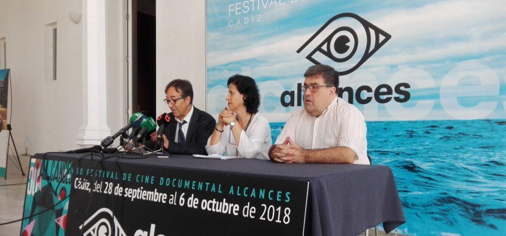 """Presentada la """"La Mirada Andaluza. Muestra del Audiovisual Andaluz"""" en el marco del Festival Alcances de Cádiz"""