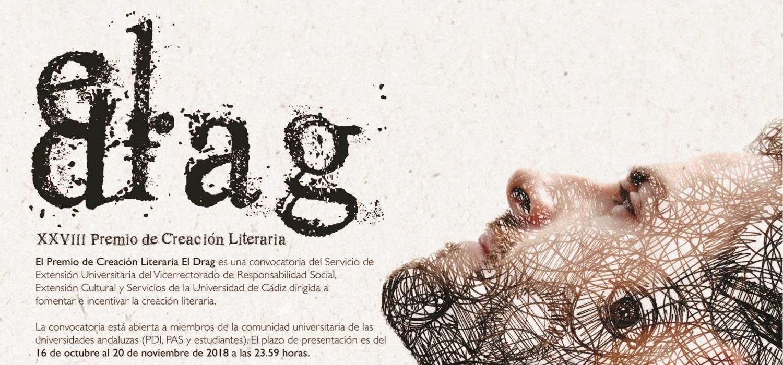 Fallada la convocatoria del XXVIII Premio de Creación Literaria El Drag
