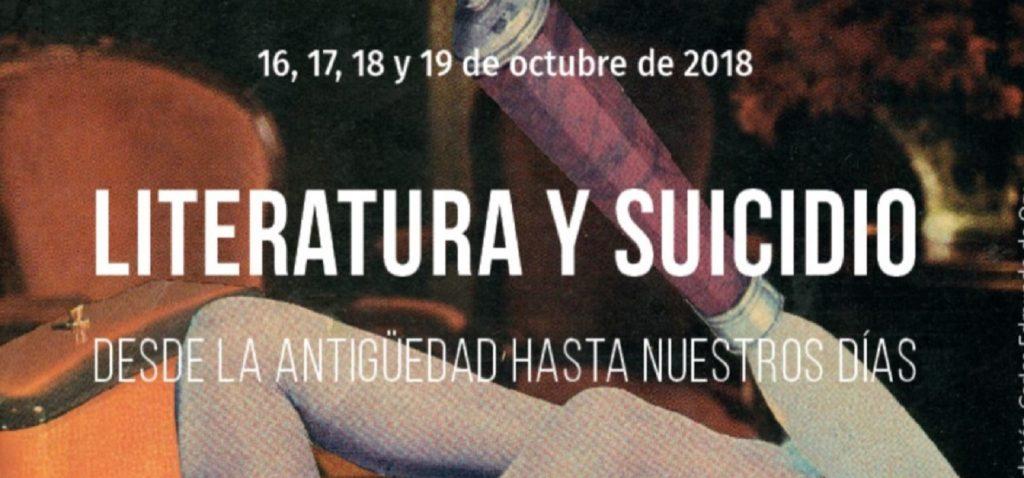 """"""" Literatura y suicidio. Desde la antigüedad hasta nuestros días"""" en las VIII Jornadas de la Fundación Carlos Edmundo de Ory"""