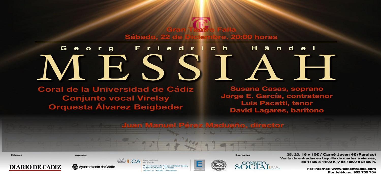 """La Coral de la UCA celebra su tradicional concierto extraordinario de Navidad interpretando """"El Mesías"""" de Händel"""