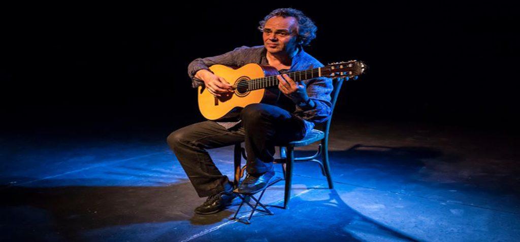 """El guitarrista Luis Balaguer presenta su álbum """"Canciones del Estrecho"""" en el programa Campus Jazz Cádiz 2019."""