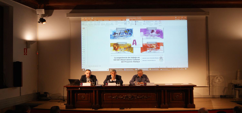 Presentado el Observatorio Cultural del Proyecto Atalaya en las Jornadas Sectoriales sobre Currículum Complementario en la Universitat de València