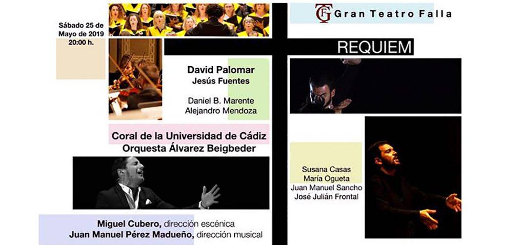 """""""Réquiem de Mozart"""" reunirá a la Coral de la UCA y a la Orquesta Álvarez Beigbeder en el Teatro Falla de Cádiz"""