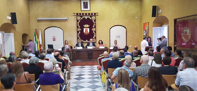 Almudena Grandes imparte la conferencia inaugural de los 39º Cursos de Verano en San Roque