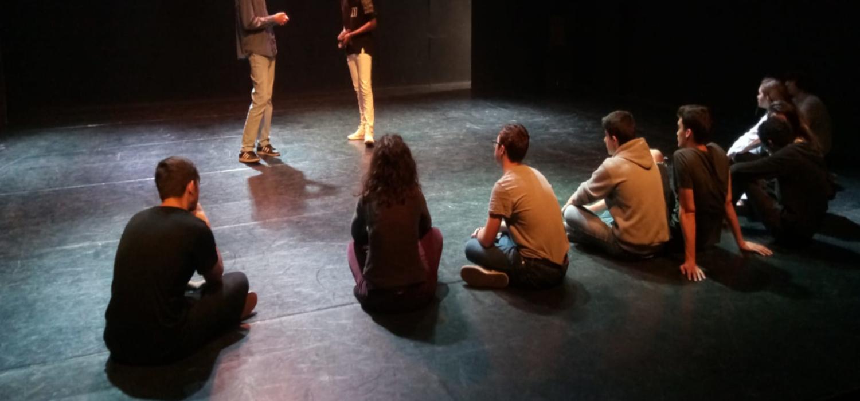 """Da comienzo el módulo """"Teatro imagen. El arte de la comunicación no verbal"""" de la Escuela de Formación Teatral de la UCA"""