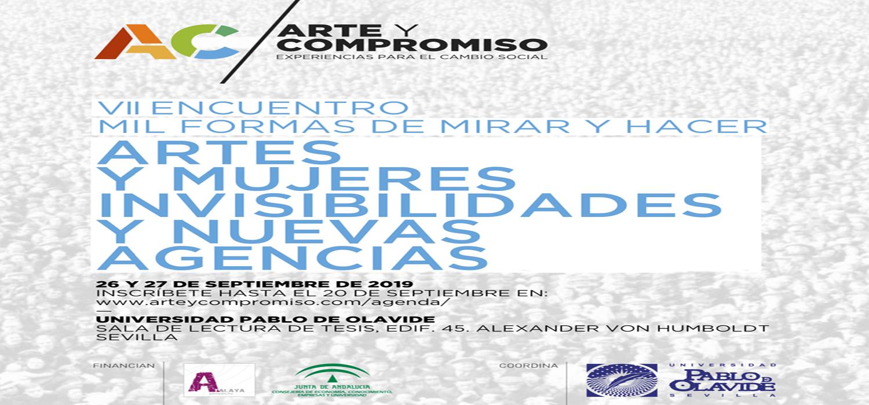 """El Servicio de Extensión Cultural de la Universidad Pablo de Olavide pone en marcha una nueva edición del programa """"Arte y Compromiso. Experiencias para el cambio social"""""""