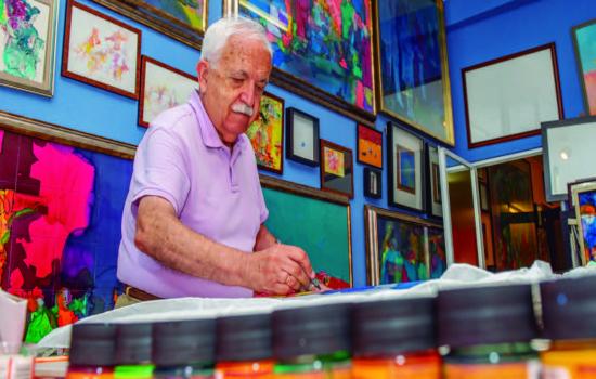 """Se inaugura en Jerez la exposición de pintura """"Retrato…un ayer desde hoy"""" de Luis Gonzalo"""