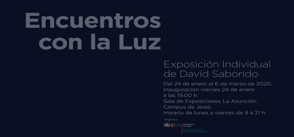 """El Campus de Jerez inaugura la exposición """"Encuentros con la Luz"""" de David Saborido"""