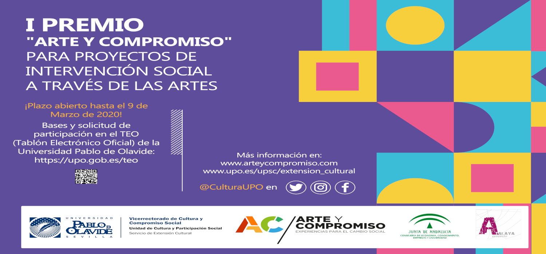 I Premio «Arte y Compromiso» Para Proyectos de Intervención Social a través de las Artes