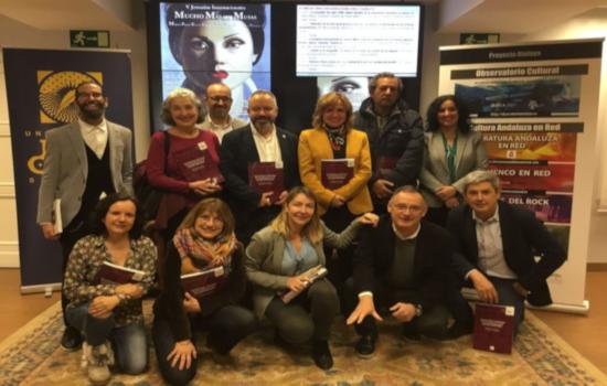 IMG Celebrada en la sede de la UPO en Sevilla la reunión del equipo académico de Prácticas Culturales del Observatorio Cultural del Proyecto Atalaya, coordinado por UCA y UNIA