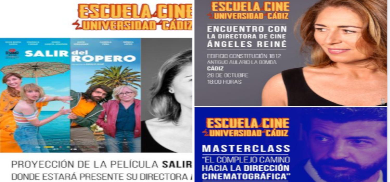 La Escuela de Cine de la UCA organiza encuentros de Ángeles Reiné, Alberto Rodríguez y Mariano Barroso con profesionales del sector cinematográfico y alumnado