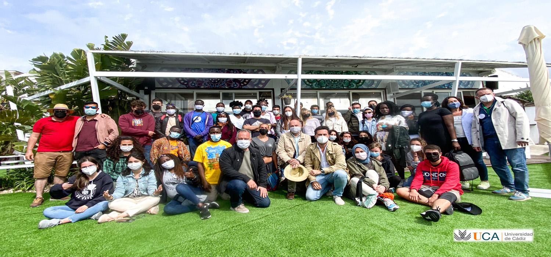 """Exitoso inicio del programa """"Rutas e itinerarios culturales"""" de los vicerrectorados de Cultura e Internacionalización de la Universidad de Cádiz"""