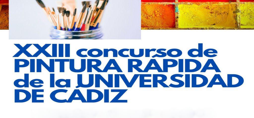 Éxito de participación en el XXIII Concurso de Pintura Rápida de la Universidad de Cádiz, que se celebrará el jueves 13 de mayo en los cuatro campus