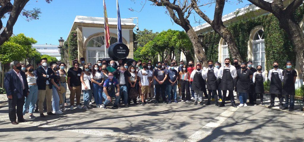 """Positivo balance de la visita a las Bodegas Osborne de El Puerto de Santa María dentro del programa """"Rutas e itinerarios culturales CIR-UCA"""""""