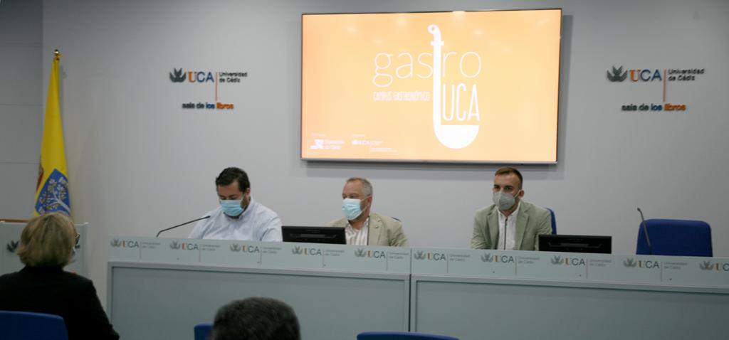 UCA y Diputación presentan el campus gastronómico 'GastroUCA'