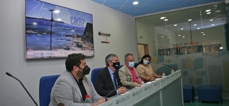 El Servicio de Extensión Universitaria del Vicerrectorado de Cultura de la Universidad de Cádiz, retoma los Cursos de Verano en Cádiz con 18 seminarios que se celebrarán del 7 al 21 de julio