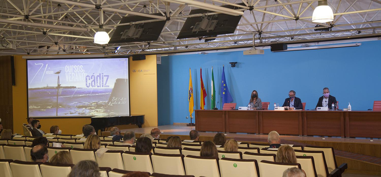 Se clausura la 71ª edición de los Cursos de Verano de Cádiz con un positivo balance