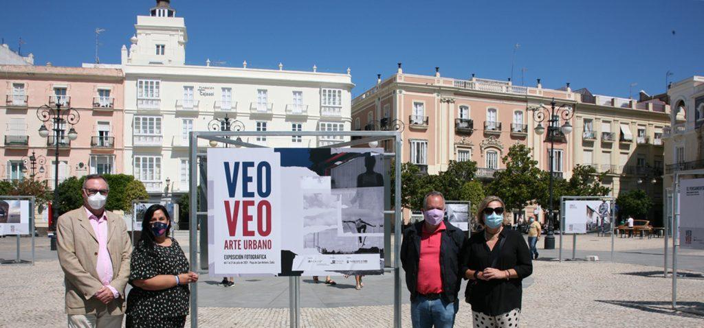 """El Servicio de Extensión Universitaria del Vicerrectorado de Cultura de la Universidad de Cádiz inaugura la exposición """"Veo-Veo, arte urbano"""""""