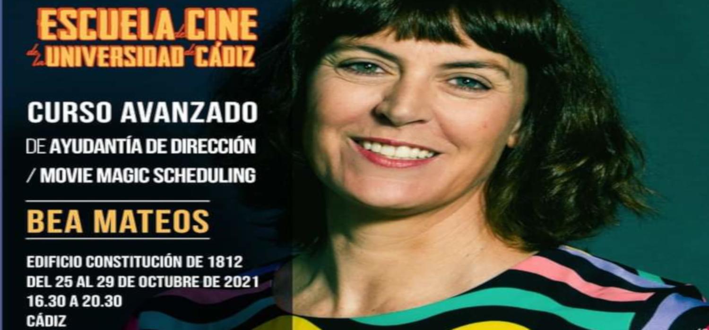"""El Campus de Cádiz acoge el módulo de cine """"Curso Avanzado de Ayudantía de Dirección / Movie Magic Scheduling"""", impartido por Beatriz Mateos en el marco de la Escuela de Cine de la UCA"""
