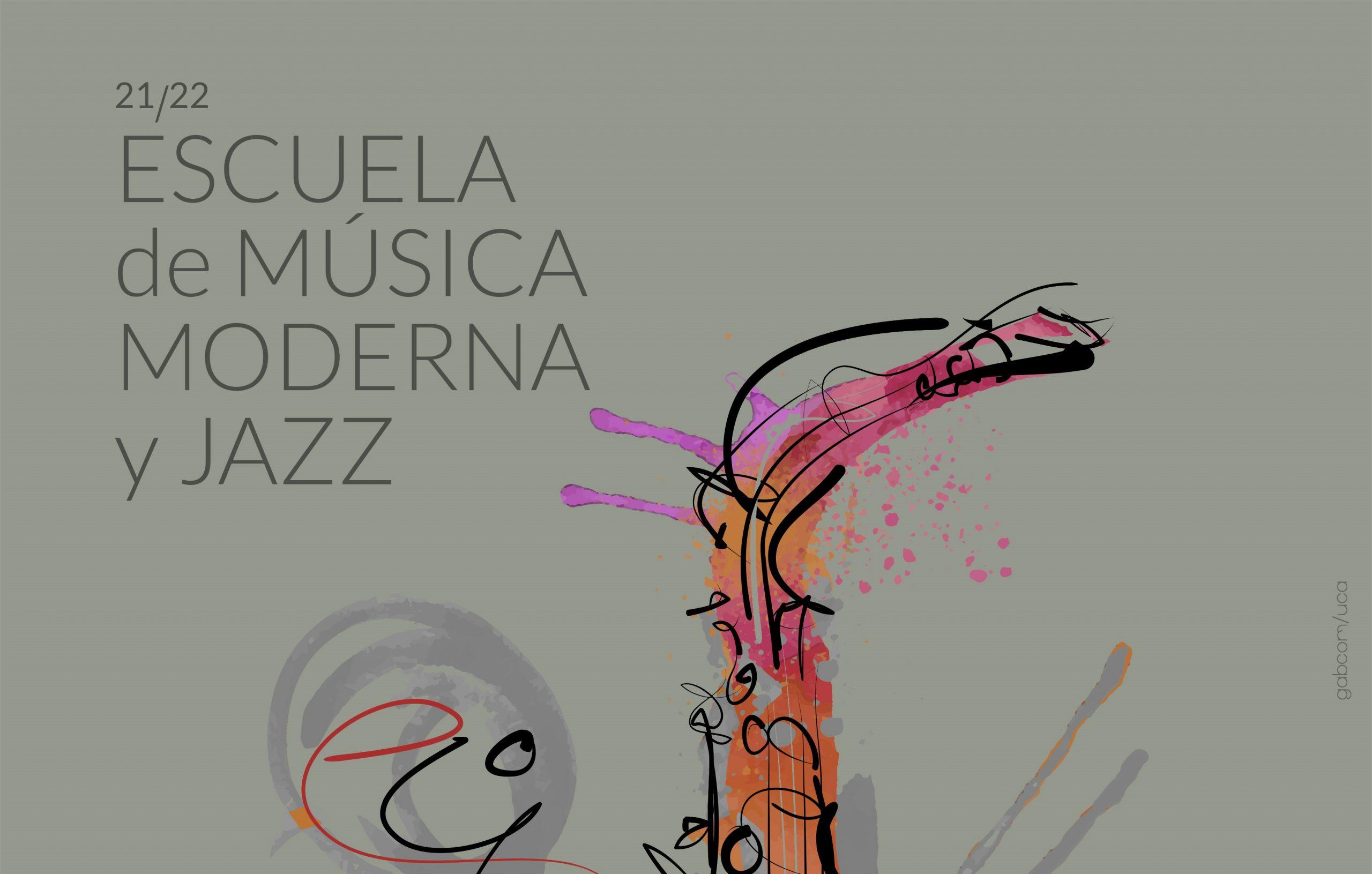 La Escuela de Música Moderna y Jazz de la Universidad de Cádiz presenta su programación para el curso 2021/2022 con un concierto de apertura